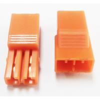 Buy cheap 5.60mm Pitch 2P LED Connectors L=27.4 PA66 Orange Led Strip Connector from wholesalers