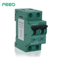 Best Thermal Magnetic 2P FEEO DC MCB , DC MCB 63 AMP wholesale