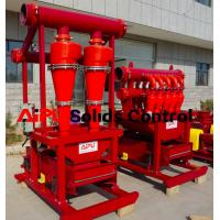 Best APCS Desander separator used in well drillings mud circulation system at Aipu wholesale