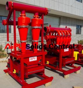 Cheap Reliable quality hot sales drilling fluids solids control desander separator for sale for sale