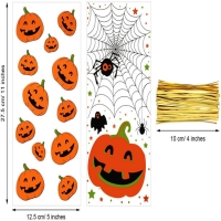 Best Clear Cellophane CPP 3mils Halloween Treat Bags With Twist Ties wholesale