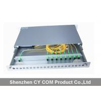 Best 19 Inch Wavelength Division Multiplexer Module Rack Mounted Slidable Type Metal wholesale