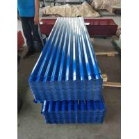 Best 24 Gauge Metal Roofing Sheets , ASTM CGCC Galvanized Corrugated Panels wholesale