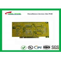 Best Gold Finger PCB for Computer 4 Layer PCB Thickness 1.6mm Immersion Gold UL , ROHS , ISO wholesale