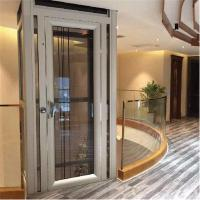 Best Side Opening Type Glass Personal Home Elevators With Steel Frame wholesale