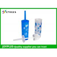 Best Plastic Bathroom Cleaning Items Round Toilet Brush Easy Cleaning HT1065 wholesale