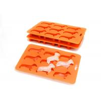 Best Silicone Ice Cube Trays no  BPA  Freezer Tray Non-Stick Stackable Candy Molds wholesale