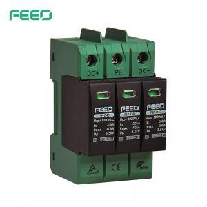 Best EN50539-11 3P DC Surge Protector For Solar Panel wholesale