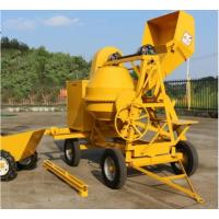 Best 500L Mobile Portable Self Loading Concrete Mixer Truck With Air - Cooled Diesel Engine wholesale