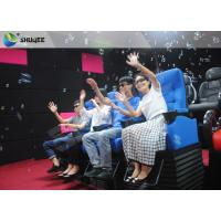 Best Huge Screen 4D Cinema System Movement Chair Fog Effects 100 Seats wholesale