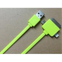 Best 3 In One Charging Multifunction USB Cable For Samsung Galaxy S3 With Apple 30 Pin wholesale