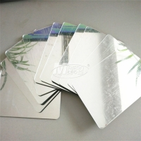 Best 4x8 Glass Mirror Panels Custom Colored Acrylic Mirror Sheets For Gardens wholesale