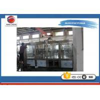 High Speed 3 In 1 Auto Water Filling Machine Stainless Steel 4.6KW 6000BPH
