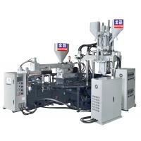 Best Three Colors Pvc Air Blowing Injection Machine , Jelly Shoes Sandals Making Machine  wholesale