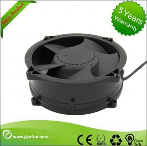 Best Brushless 48V DC Axial Fan / Bathroom DC Exhaust Fan High Efficiency wholesale