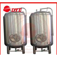 Best 1000L Stainless Steel Storage Water Tank , Steam Jacketed Tank Round Legs wholesale