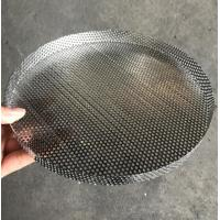 Best 304 Stainless Steel Perforated Filter Mesh Tray Polishing Treatment wholesale