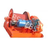 Best 10 Ton Electric Winch Machine With Lebus Groove Drum / Electric Crane Winch wholesale