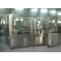 Best Adjustable Sparkling Water PET Can Filling Machine Industrial Line 2000 Cans / Hour wholesale