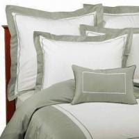 Best Bed Linen, Made of Cotton with Printed or Embroidery, Various Colors are Available wholesale