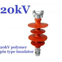 Quality high voltage polymer pin insulator of 11kV 15kV 20kV 22kV 25kV 33kV 36kV pin insulator wholesale