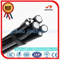 Cheap Xlpe Insulation Aluminum Overhead Power Cables 6 AWG Size Excellent Corrosion for sale
