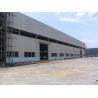 Q345 Pre Engineered Light Weight Metal Industrial Steel Buildings / Workshop