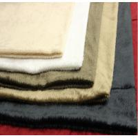 China Custom Microfiber Suede Upholstery Fabric 350gsm~550gsm For Garments on sale