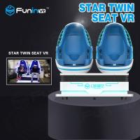Best Two Players Interactive Game VR Egg Chairs / 9D VR Simulator 12 Months Warranty wholesale