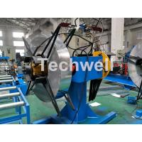 Best Manual / Hydraulic Double Head Decoiling Machine With 0-15m / Min Uncoiling Speed wholesale