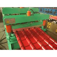 Best Hydraulic Roof Tile Making Machine , Corrugated Iron Machine With Automatic Control System wholesale
