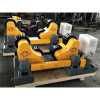 China Self Aligned Pipe Welding Rotator Rollers Turning Rolls Automatic Adjusted on sale