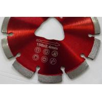 Best Soff Cut Laser Welded 6 Inch Diamond Saw Blades For Green Concrete Cutting wholesale