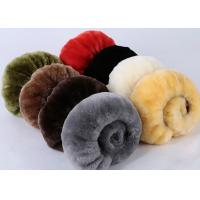 Best Warm Comfortable Sheepskin Steering Wheel Cover 3 Spoke Anti Slip For Safety Driving wholesale