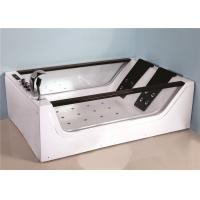 Best Electronic Control Large Jacuzzi Bathtub , Jacuzzi Air Tub With 8 Hydrotherapy Jets wholesale