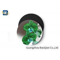 Best Stunning Flower Personalised Round Coasters , Print Your Own Coasters 3D Lenticular Picture wholesale