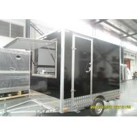 Cheap Mobile Food Kiosk Catering Trailer Food Catering Vans CE Certification wholesale