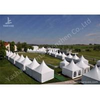 Best Fast Setting Up Strong High Peak Tents / Aluminum Structure Tent Wind Resistant wholesale
