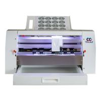 Best Compact Size Sticker Label Cutting Machine 50-300gsm Cutting Thickness wholesale