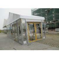 Best PVC Roof Cover And Glass Wall Tent Classic Luxury Kenya Tent With Party Decorations wholesale