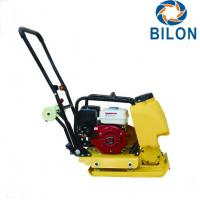 China High Speed Vibra Plate Compactor Electric Plate Compactor 5.5HP Honda Engine on sale