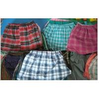 China sell man's pajamas pants,men's homewear stock,Cheap men's briefs & boxers stock lots on sale