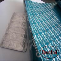 China Coated treatment and hard temper pharmaceutical use aluminum foil on sale