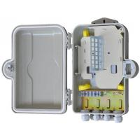 Cheap Outdoor Fiber Optic Distribution Cabinet HSGFKSW-12 Insulation Resistance ≥2×10M for sale