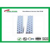 Best Long LED Lights PCB , Aluminum PCB White Solder Mask High-frequency PCB wholesale