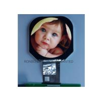 Cheap 2.5 Inch IPS Round LCD Panel 480 * 480 Resolution Smart Switch With RGB Interface for sale