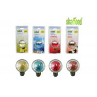 Best Long lasting Colorful Round Crystal Liquid Car Air Freshener Aromatous wholesale