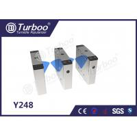 Best Pedestrian Flap Barrier Turnstile For Indoor And Outdoor Security Management wholesale