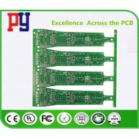 Buy cheap High Tensile Strength Double Sided PCB Board Green Solder Mask Color Long from wholesalers