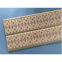 Best 10 Inch Water Resistant Bathroom Wall Panels With PVC Resin Material wholesale